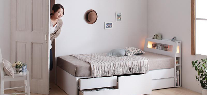 一人暮らしベッド